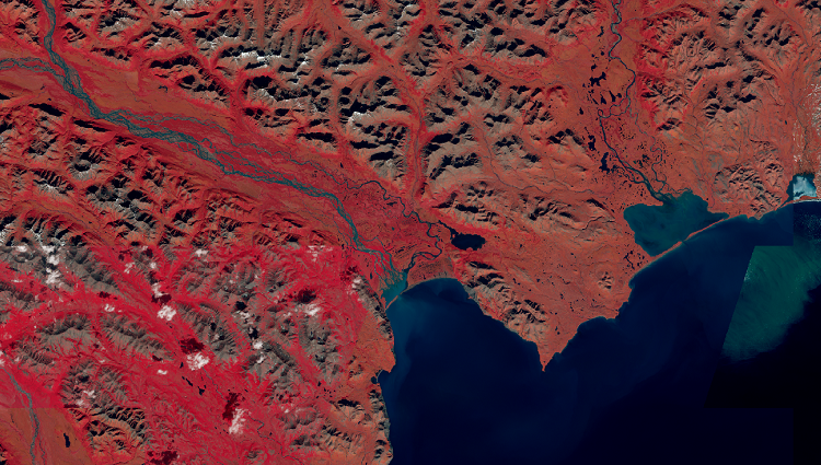 Satellite imagery: Landsat 8 and its Band Combinations.