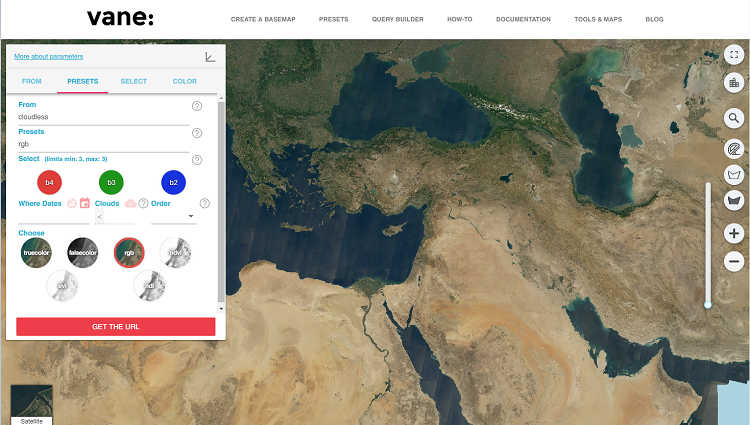 You are invited to test the new Query Builder web interface for our VANE platform
